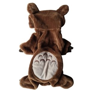 NWOT Dog Pet Coat - Bear Outfit Medium